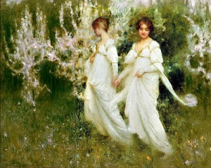 """Innocence"" by Arthur hacker (1858-1919)"